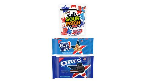 Team USA Oreo, Team USA Chips Ahoy! & Red, White & Blue Sour Patch Kids Variety Pack