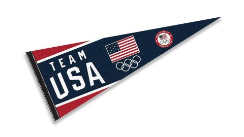 WinCraft Team USA Olympic Full-Size Pennant Banner