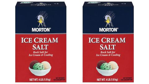 Morton Salt Rock 4-Pound, 2-Pack