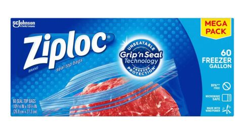 Ziploc Gallon Food Storage Freezer Bags