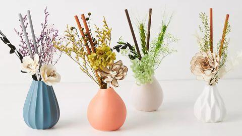 Floral Bouquet Ceramic Diffuser