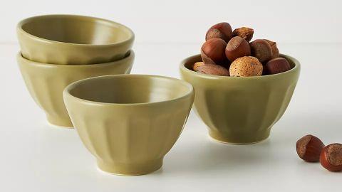Mini Matte Latte Bowls, Set of 4
