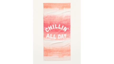 """Old Navy """"Chillin' All Day"""" Beach Towel"""
