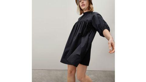 The Shirred Mini Dress