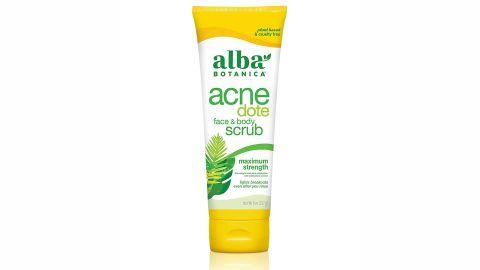 Alba Botanica Acnedote Maximum Strength Face & Body Scrub