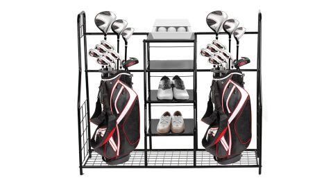 Home-It Golf Bag Organizer Rack