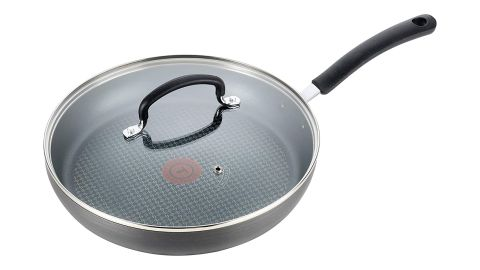 T-fal Hard Anodized Nonstick Fry Pan with Lid