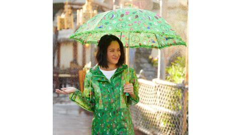 Enchanted Tiki Room Rain Jacket for Women
