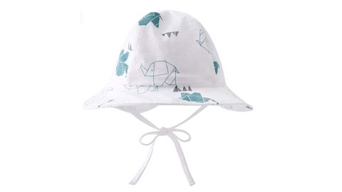 Pureborn Cotton Baby Bucket Sun Hat for Infant Boys or Girls