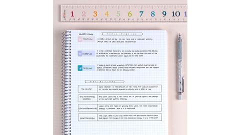 Color Block Polka Dots Notebook