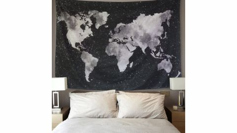 Sunm Boutique World Map Tapestry