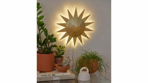 Sun Metal LED Sign