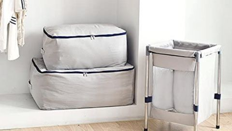 Iwill Create Pro Large Canvas Storage Organizer Bag