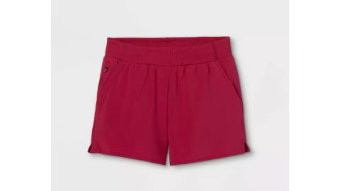 Girls' Quick-Dry Woven Shorts, All in Motion