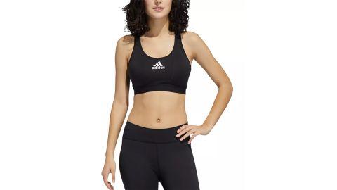 Adidas Women's Don't Rest Alphaskin Racerback Medium Impact Sports Bra