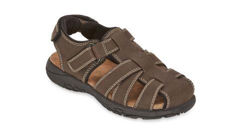 Arizona Big Kids Boys' Felix Jr Adjustable Strap Flat Sandals