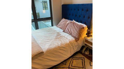 Gold Flamingo Kayden Tufted Upholstered Low Profile Standard Bed