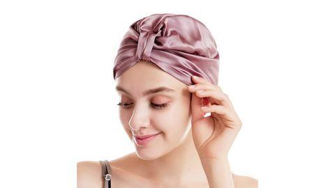 Caseeto Silk Sleep Bonnet