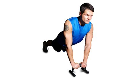 CAP Barbell Push-Up Stands