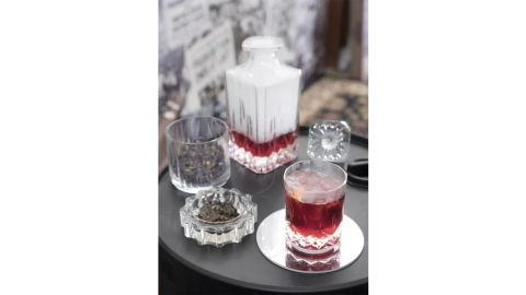 Lorren Home Trends Opera RCR 11-Ounce Crystal Whiskey Glasses, Set of 6
