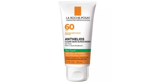 La Roche-Pose Anthelios Clear Skin Dry Touch Face Sunscreen for Acne Prone Skin