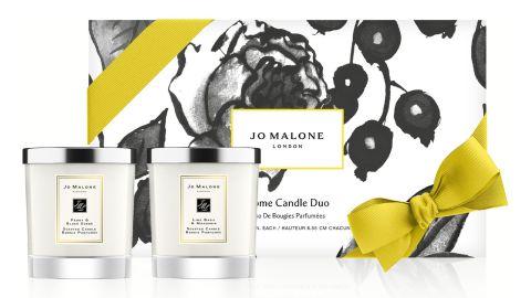 Jo Malone Peony & Blush Suede and Lime Basil & Mandarine Candle set