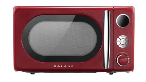 Galanz 0.7-Cubic-Foot Retro Countertop Microwave Oven