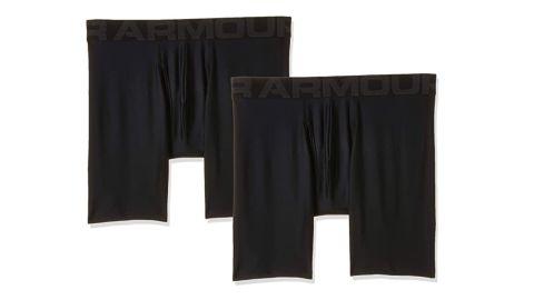 Under Armour Men's Tech 6-Inch Boxerjock, 2-Pack
