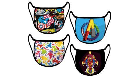 Marvel Cloth Face Masks, 4-Pack