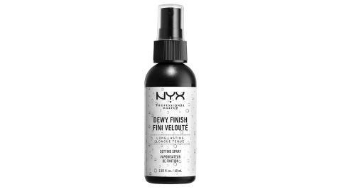 Nyx Professional Makeup Dewy Finish Face Setting Spray