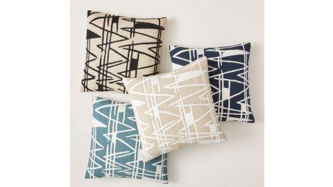 Woven Diamonds Pillow Cover