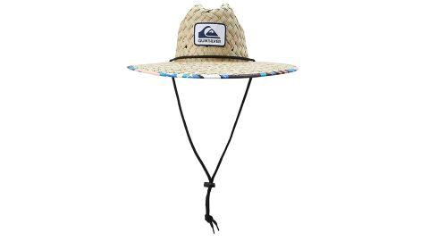 Quiksilver Men's Outsider Lifeguard Beach Sun Straw Hat