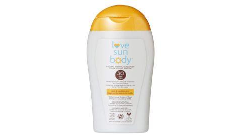 Love Sun Body Natural Mineral Sunscreen