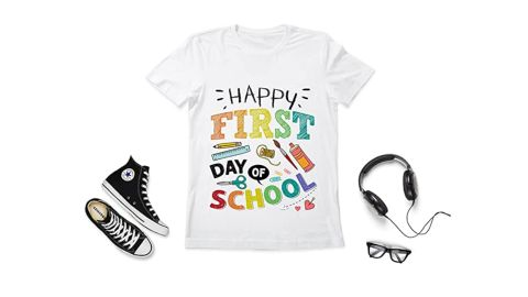 Elftees Happy First Day of School T-Shirt