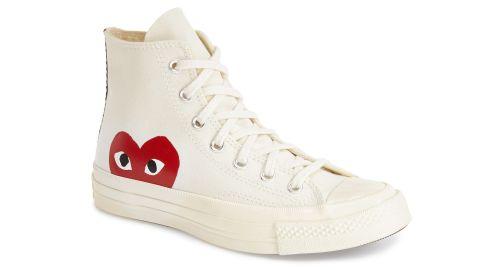 Comme des Garçons x Converse Chuck Taylor Hiden Heart High-Top Sneaker