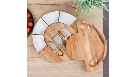 Charcuterie Board Set and Cheese Serving Platter