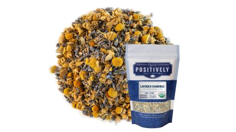 Organic Positively Tea Company, Lavender and Chamomile