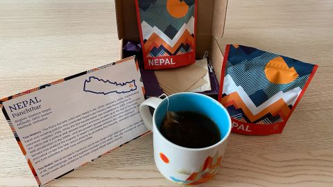 Atlas caffeinated tea box