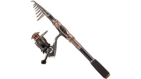 Plusinno Fishing Rod and Reel Combo Kit