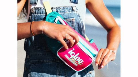Igloo '90s Retro Collection Fanny Pack Portable Cooler