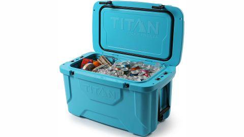 Arctic Zone Titan Deep Freeze Premium Ice Chest Roto Cooler With Microban Protection