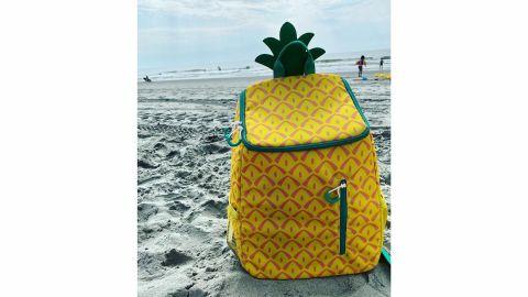 Sun Squad 14.4-Quart Backpack Cooler Pineapple