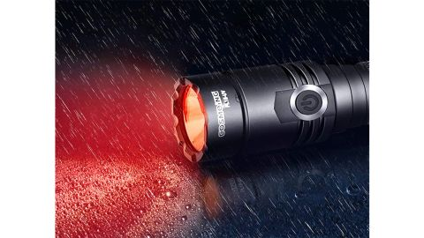 Cosmoing High Power Red LED Flashlight