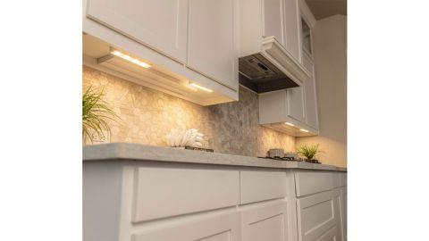 Brilliant Evolution Wireless LED Under-Cabinet Lights, 4-Pack