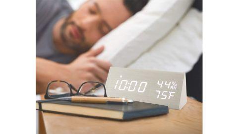 Jall Wooden Alarm Clock