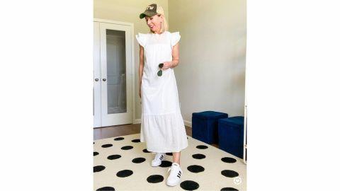 Who What Wear Ruffle Short-Sleeve Dress