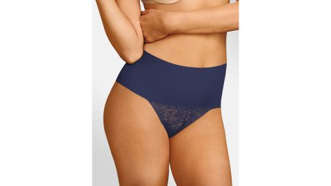 Maidenform Shaping Lace Thong With Cool Comfort