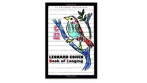 'Book of Longing' by Leonard Cohen