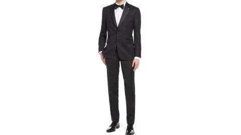 Ted Baker Jenner Slim Fit Notch Lapel Wool & Mohair Tuxedo