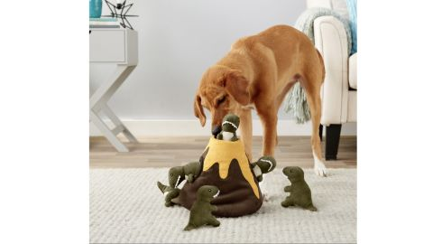 Frisco Hide and Seek Plush Volcano Puzzle Dog Toy
